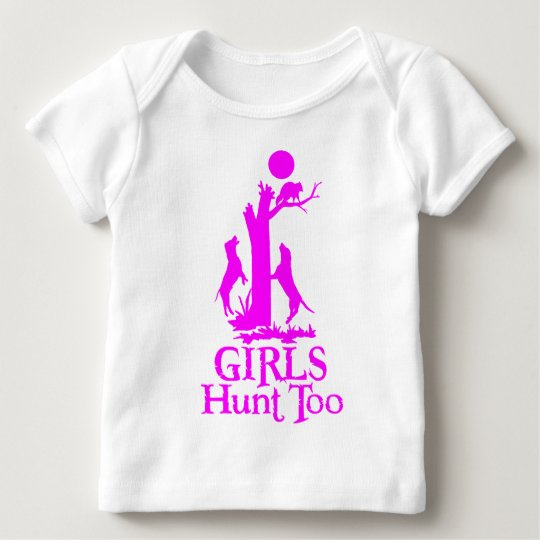 GIRL COON HUNTING BABY T-Shirt