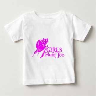 GIRL COON HUNTING BABY T-Shirt