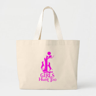 GIRL COON HUNTING CANVAS BAGS