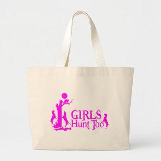 GIRL COON HUNTING CANVAS BAG