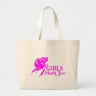 GIRL COON HUNTING TOTE BAG