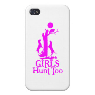 GIRL COON HUNTING iPhone 4 COVERS