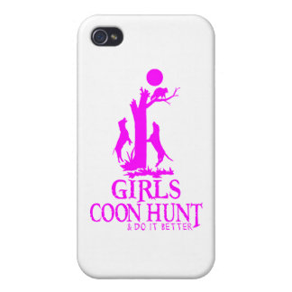 GIRL COON HUNTING iPhone 4 COVER