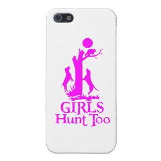 GIRL COON HUNTING iPhone 5 COVER