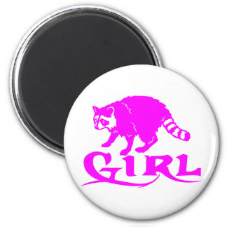 GIRL COON HUNTING MAGNET