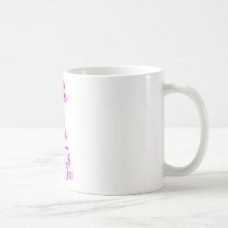 GIRL COON HUNTING CLASSIC WHITE COFFEE MUG