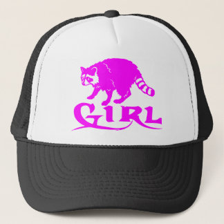 GIRL COON HUNTING TRUCKER HAT