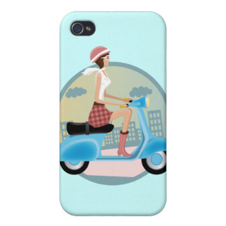 Girl Cover For iPhone 4
