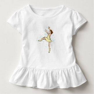 Girl dancing ballet with sublime enchantment toddler t-shirt