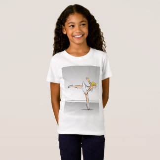 Girl dancing ballet yet its glamor T-Shirt