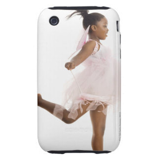 Girl dancing in fairy costume iPhone 3 tough cover