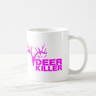 GIRL DEER KILLER COFFEE MUG