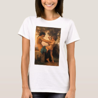 Girl Defending Herself Against Cupid by Bouguereau T-Shirt