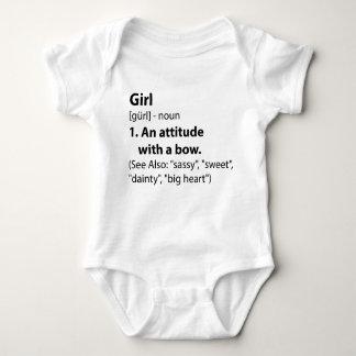 Girl Definition Baby Bodysuit