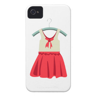Girl Dress iPhone 4 Case-Mate Cases