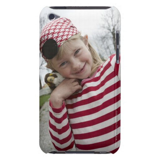 Girl dressed up as a pirate, Sweden. Case-Mate iPod Touch Case