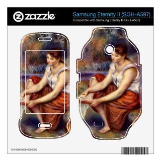 Girl dryes her feet by Pierre Renoir Samsung Eternity II Skin