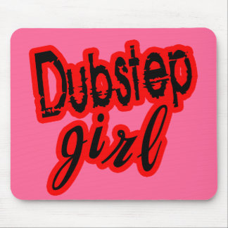 girl Dubstep Mouse Pad
