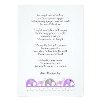 pin baby shower thank you poems thank you cards for a baby shower