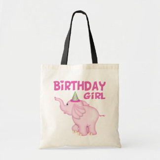 Girl Elephant Birthday Party Bags