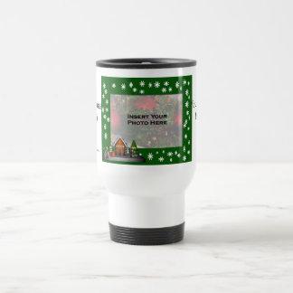 Girl Elf Scene Christmas Photo Travel Mug