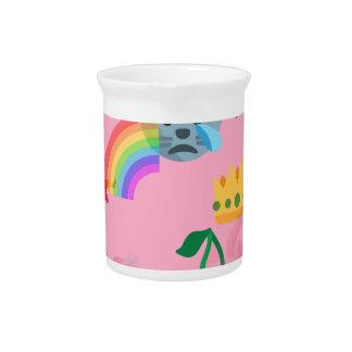 girl emoji pitcher