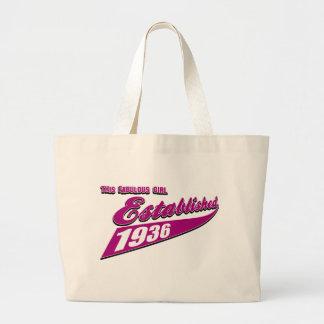 Girl Established 77 Canvas Bag