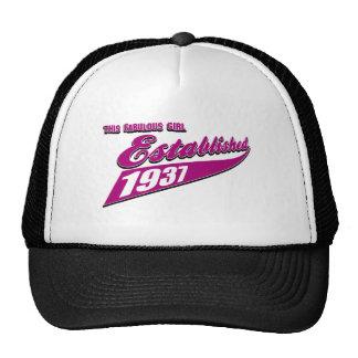 Girl Established 77 Trucker Hat