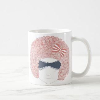 girl face mug
