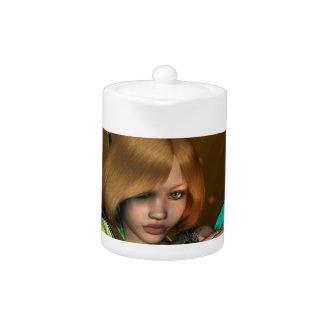 Girl Fae Teapot