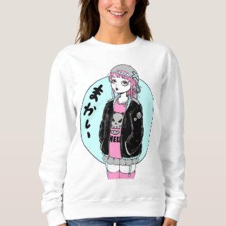 girl fashion rock manga sudadera