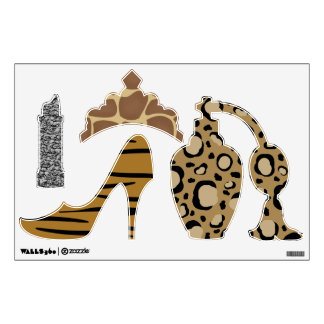Girl Fashion Wall Decals