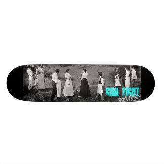 girl fight skateboard deck
