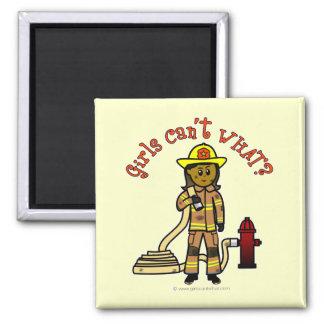 Girl Firefighter Magnets