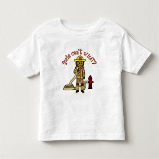 Girl Firefighter Toddler T-shirt