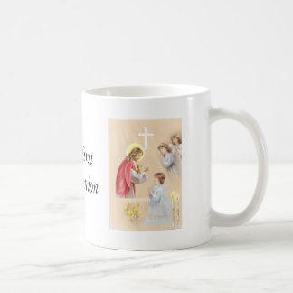 Girl first communion drinking mug