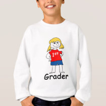 Girl First Grader Sweatshirt