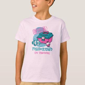 Girl Fisherman In Training T-Shirt