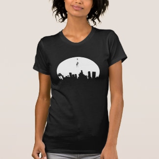 Girl Floating Away Los Angeles T-Shirt