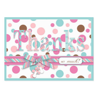 Girl FP TY Gift Tag Large Business Card
