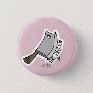 Girl Freak Pinback Button