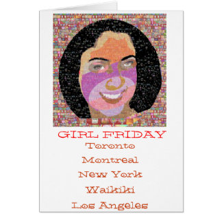 Girl FRIDAY Gifts Greeting Cards