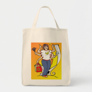 Girl Friday Grocery Tote Grocery Tote Bag