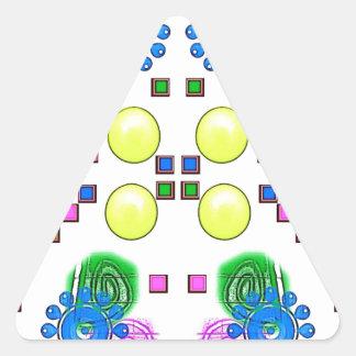 Girl Friend Design 001 Triangle Sticker