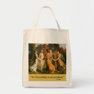 girl friends day tote bag