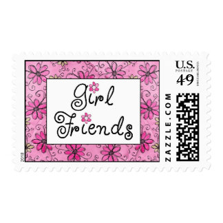 Girl Friends Rock! Postage