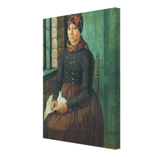 Girl from Fano, 1834 Canvas Print