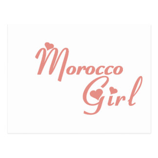 Girl from Morocco Postcard