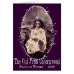Girl From Underground Notecard