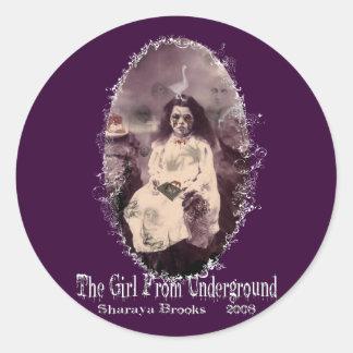 Girl From Underground Sticker
